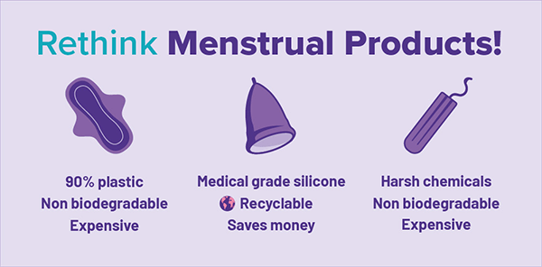 Are Menstrual Cups better for the environment than pads and tampons
