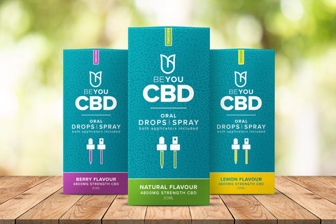 Best CBD flavours with BeYou