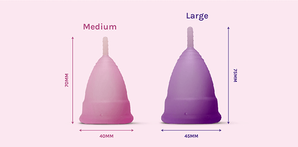 Why are there different sizes of Menstrual Cups available?