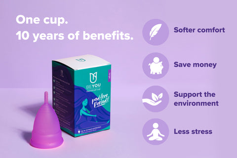 Pad-free periods with the menstrual cup| best period products