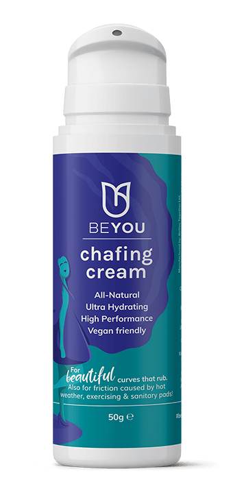 chafing cream for thighs rubbing together