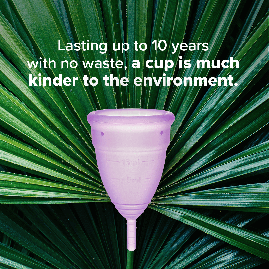 eco friendly menstrual cups last for up to 10 years