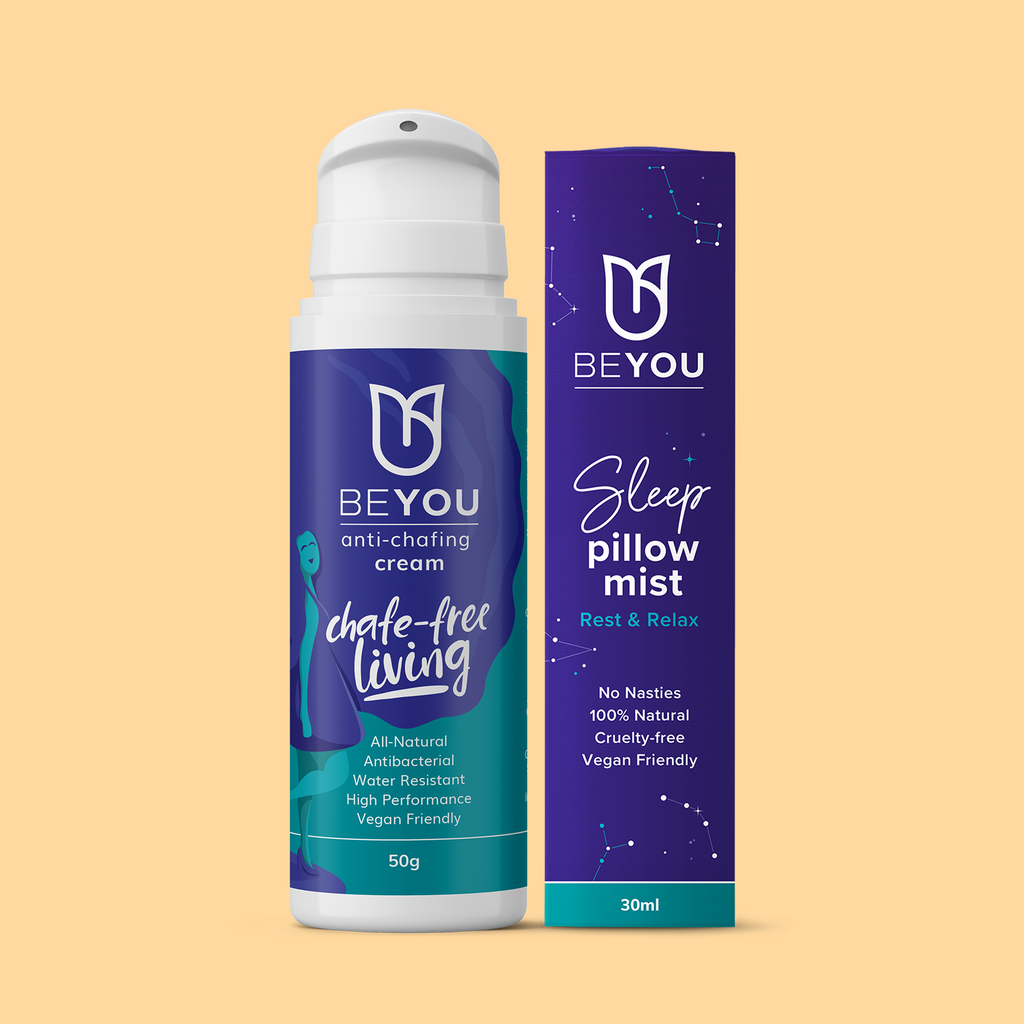 Chafing Cream and Sleep Pillow Mist Bundle