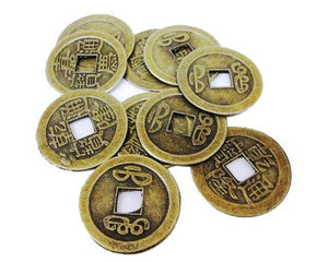 How to Attract Wealth With Chinese Coins