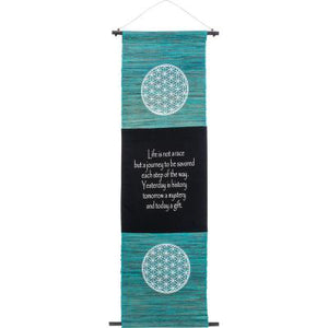 Flower of Life Sea Grass Banner