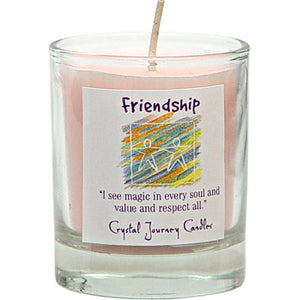 Soy Wax Votive - Friendship