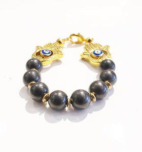 Protection Shungite Bra Bracelet