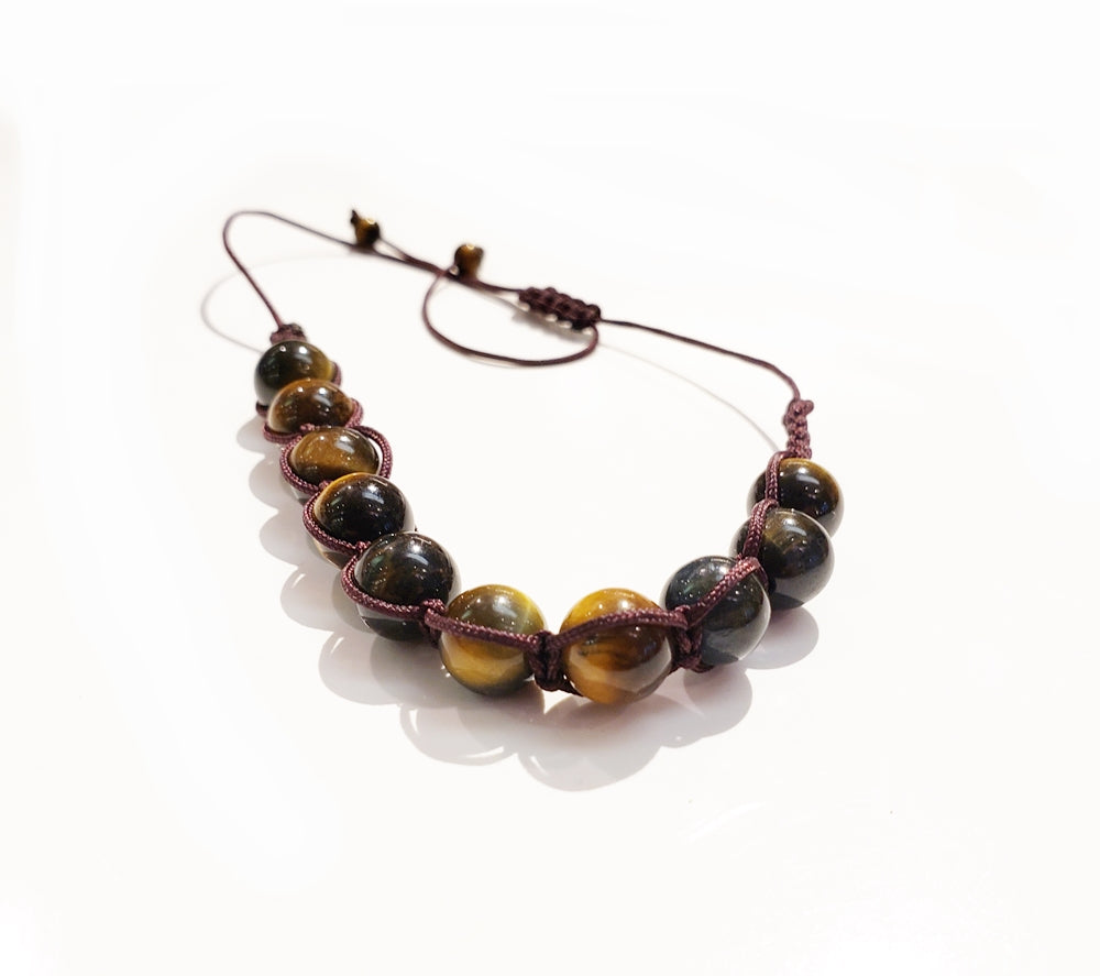 Tiger Eye Shamballa