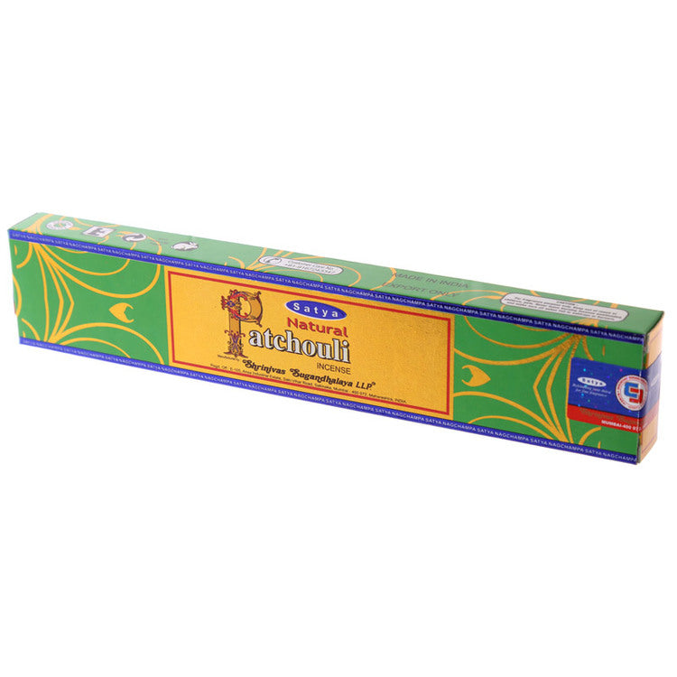 Natural Patchouli Incense Sticks