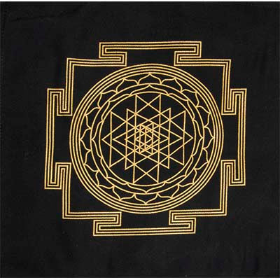Sri Yantra Pattern Grid