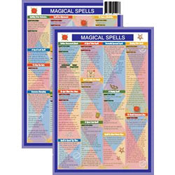 Magical Spells Mini Chart
