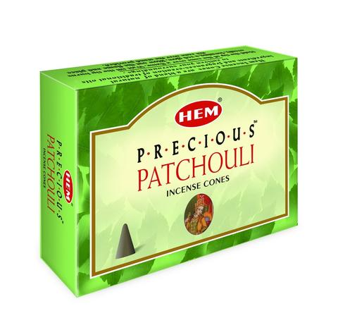 Precious Patchouli Incense Cones