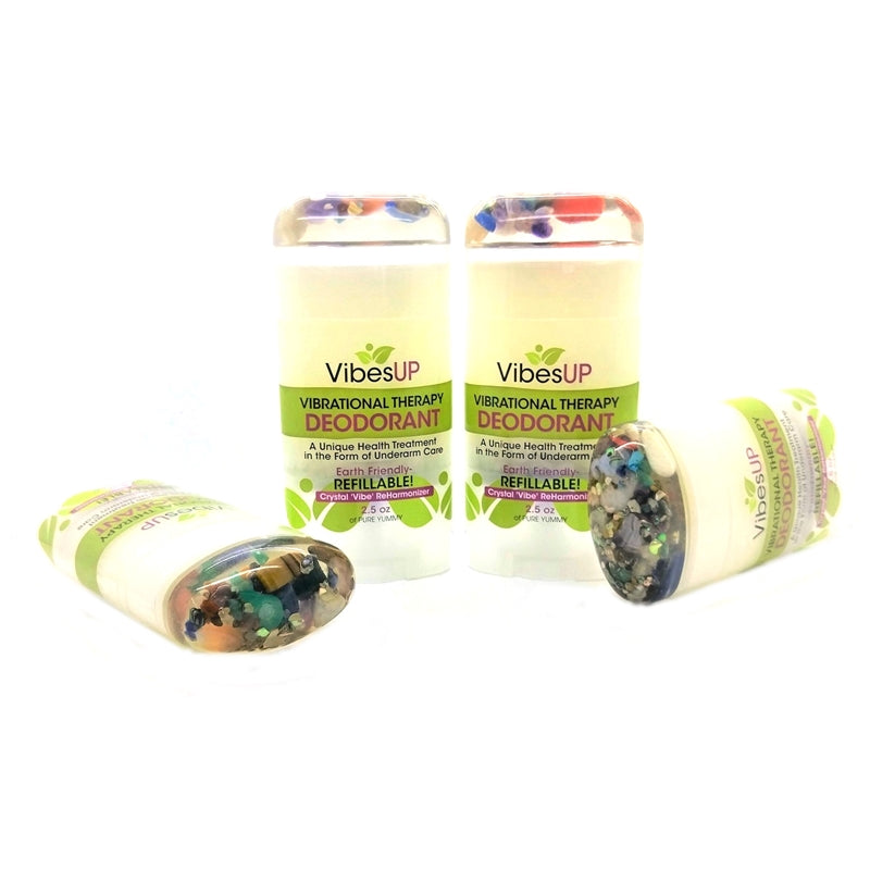 Refillable Vibrational Therapy Deodorant
