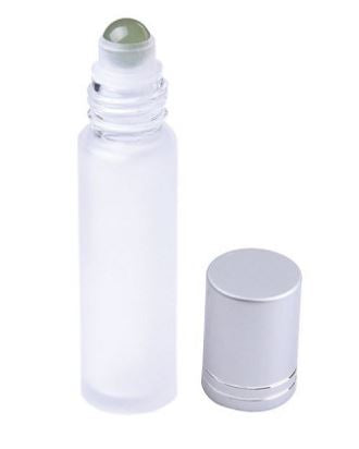 Green Aventurine Sphere Essential Oil Roller Bottle