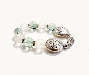 Focus & Clarity Crystal Bra Bracelet