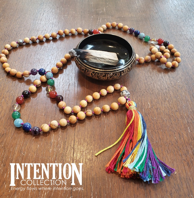 Chakra Balancing Intention Mala