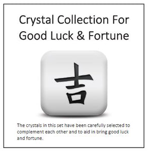 Crystal Collection For  Good Luck & Fortune