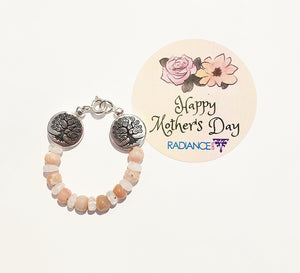 Mother's Love Crystal Bra Bracelet