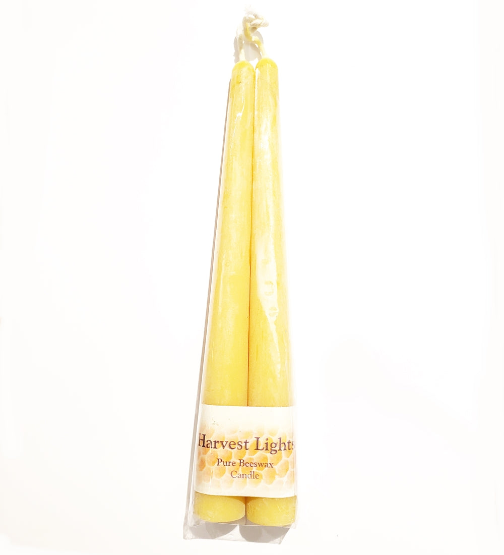 Beeswax Taper Candle 8 Pair