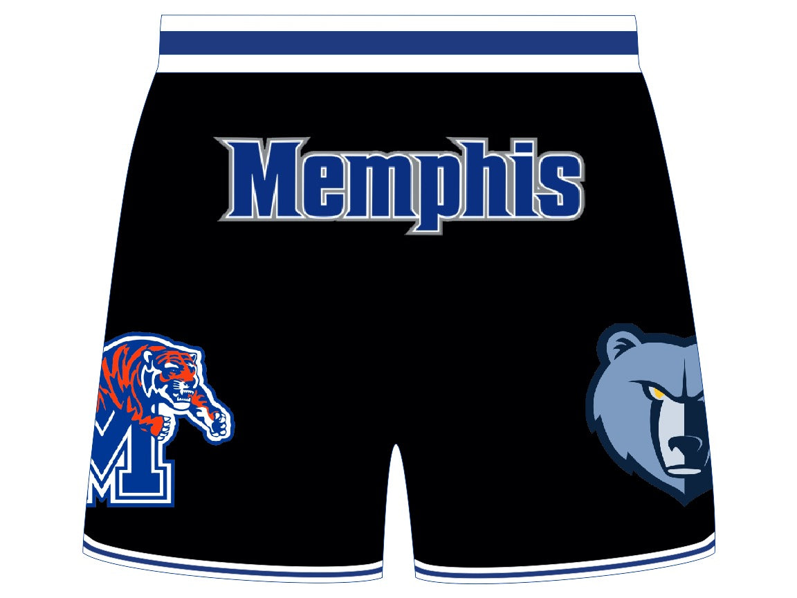 THIS IS MEMPHIS Basketball Shorts BLACK