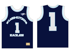 HUTCH EAGLES BASKETBALL JERSEY NAVY