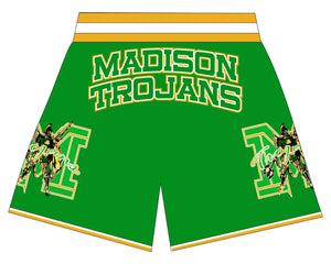 Dallas Madsion Basketball Shorts  GREEN