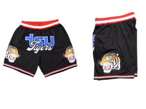 TSU TIGER BASKETBALL SHORTS BLACK