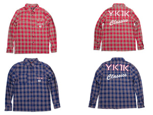 YK1K FLANNEL LONG SLEEVE SHIRT