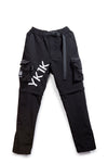 YK1K CARGO PANTS/SHORTS Black