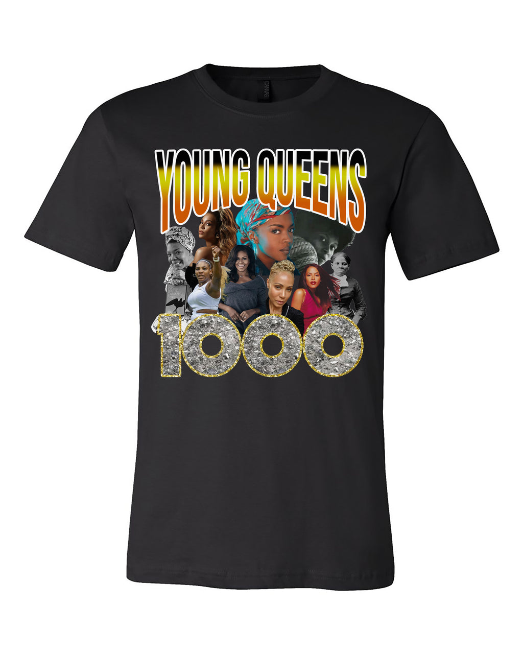 YOUNG QUEENS 1000 VINTAGE T-SHIRT