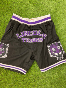 Dallas Lincoln Basketball Shorts Black
