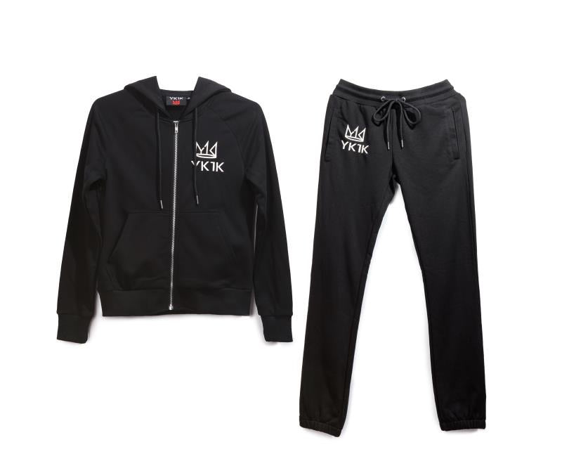 YK1K WOMENS SWEATSUIT Black
