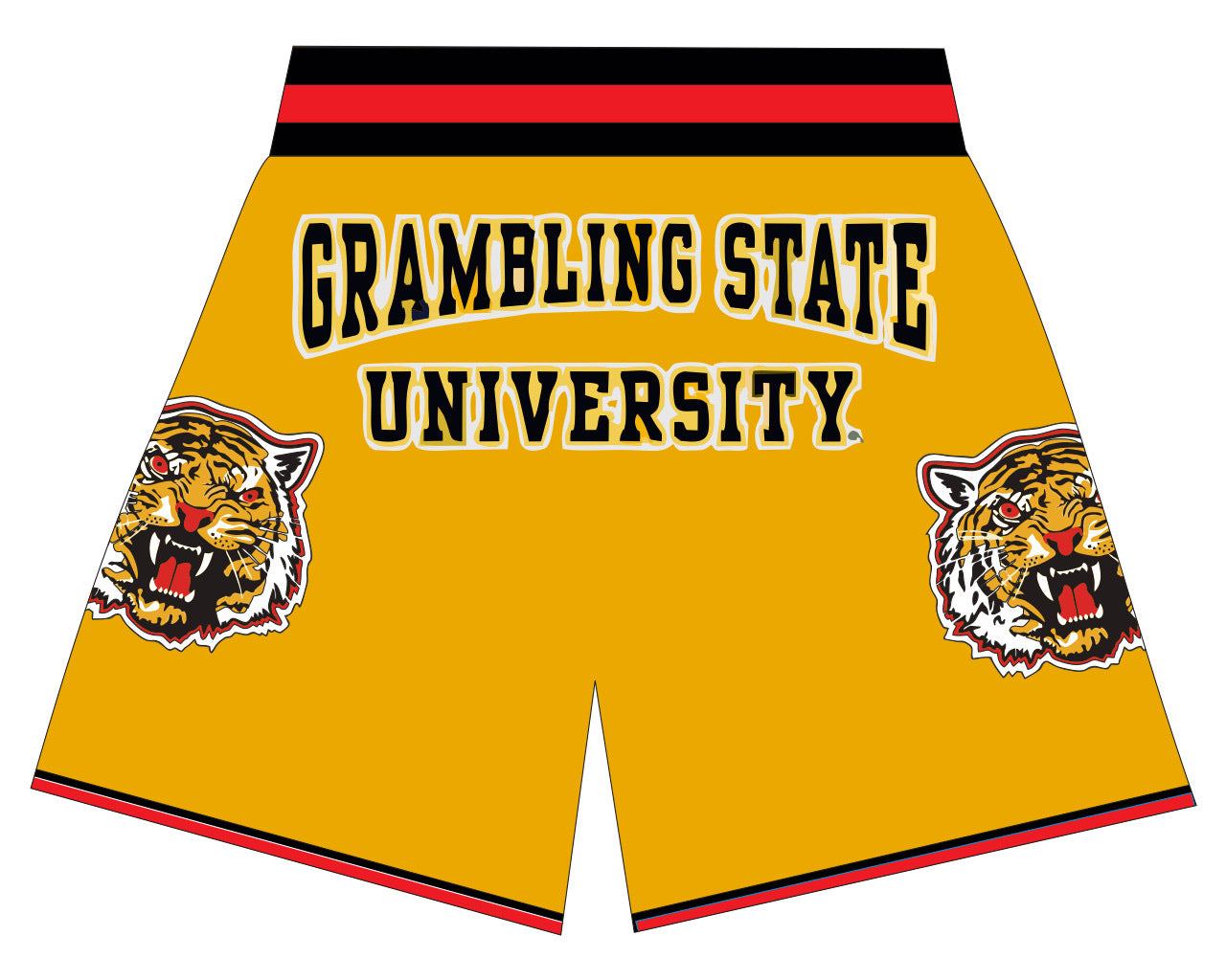 GSU BASKETBALL SHORTS GOLD