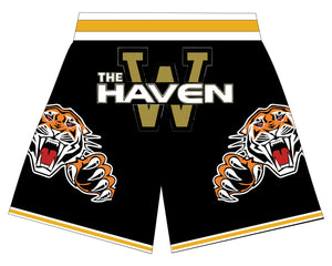 The Haven BASKETBALL SHORTS Black