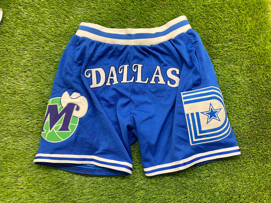 Dallas Basketball Shorts  MAV BLUE