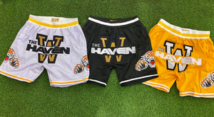 The Haven BASKETBALL SHORTS Gold