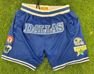 THIS IS DALLAS  Basketball Shorts ROYAL BLUE