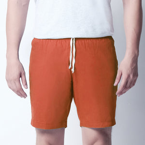 Basic Shorts - Sunrise Orange
