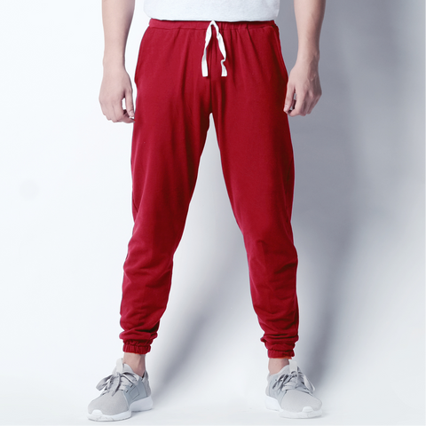 Jogger Pants - Red