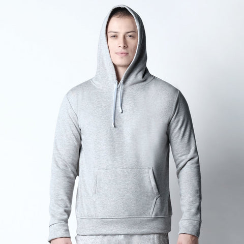 Pullover Hoodie - Light Gray
