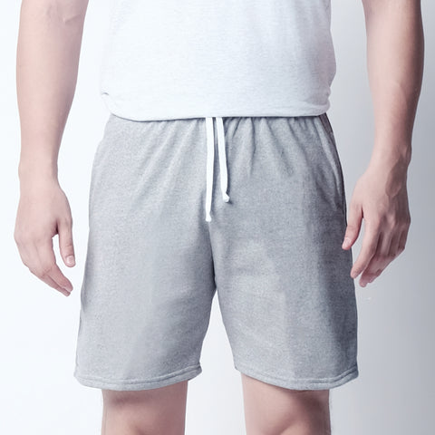 Sweat shorts - Cloudy Gray