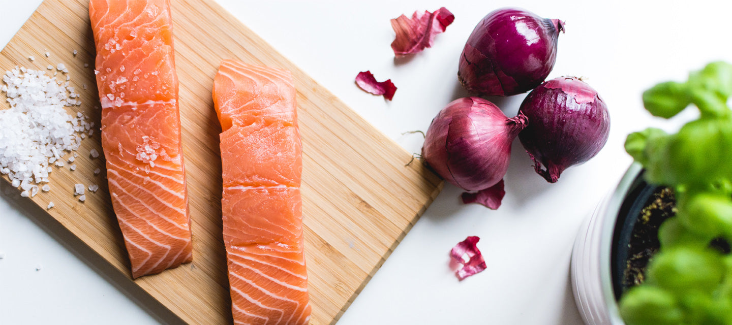 Sustainably sourced Norwegian Steelhead Salmon by Chuck and Chops Fine Foods