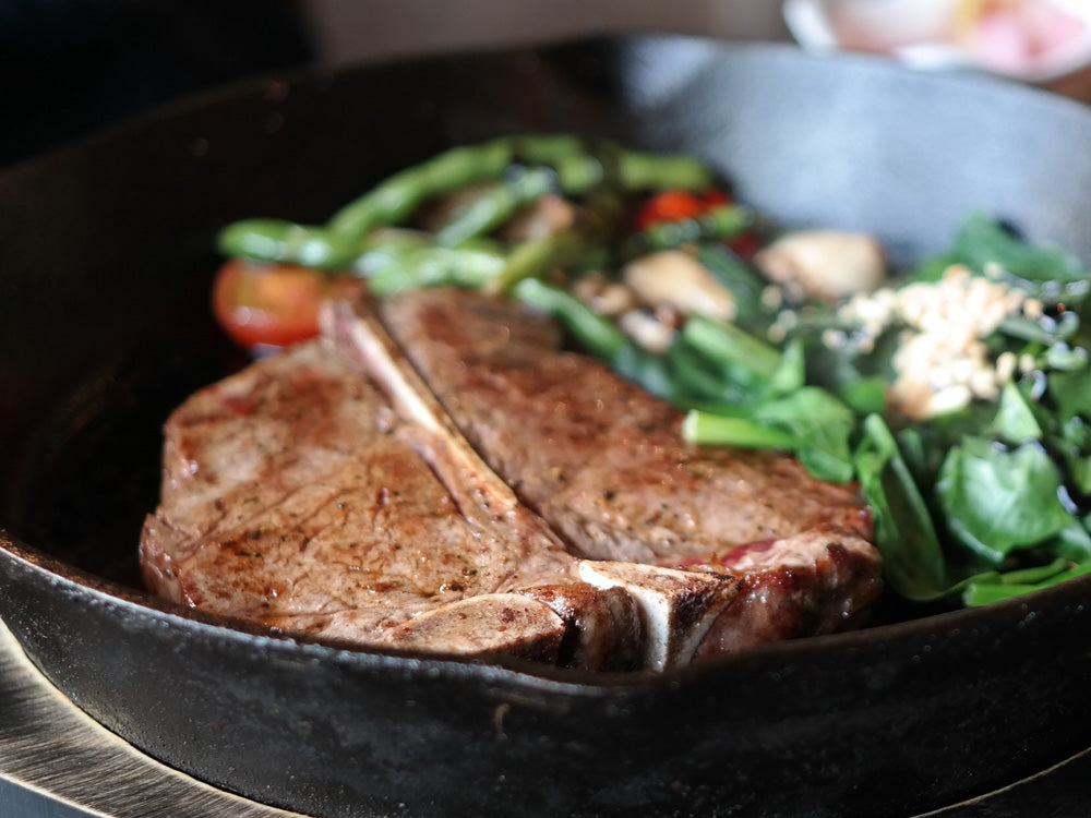 T-Bone Steak by Chuck and Chops