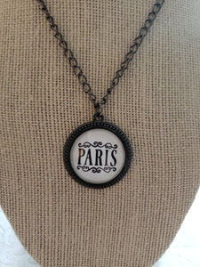 Paris Chic Cabochon Necklace