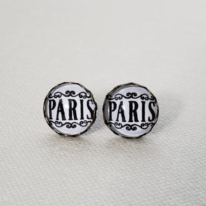 Paris Stud Earrings