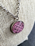 Pink n Pretty Cabochon Pendant Necklace