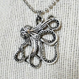 Men's Kraken Pendant Necklace