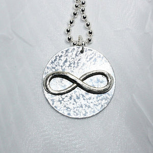 Classic Infinity Pendant Necklace