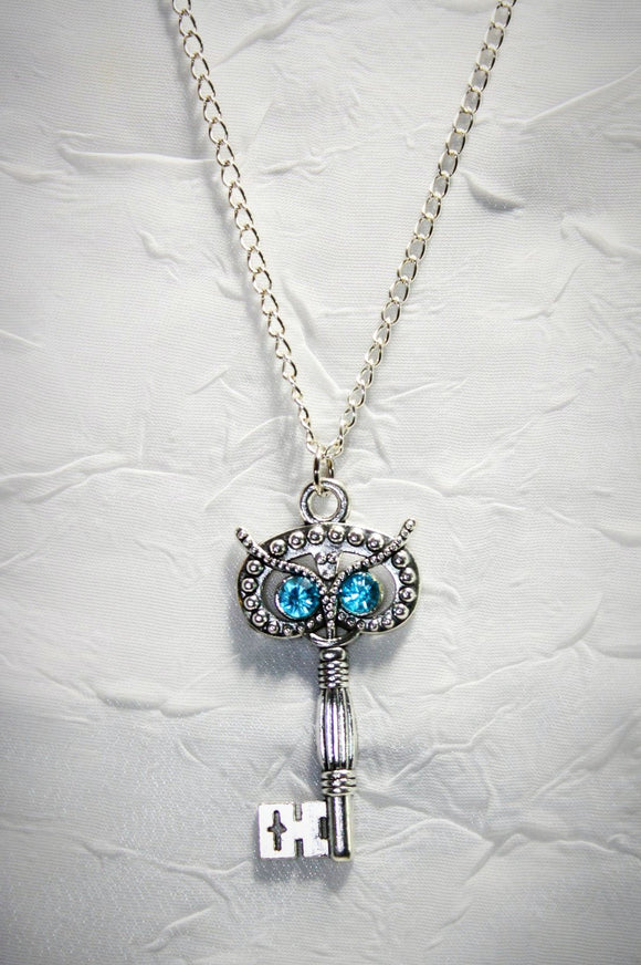 Owl Be the Key Pendant Necklace