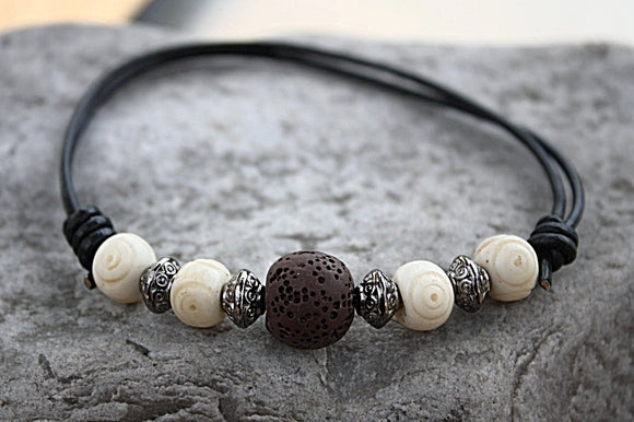 Surfer Dude Oil Diffuser Bracelet